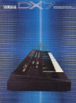 Yamaha dx7 brochure